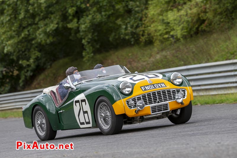 God Save The Car Festival, Triumph Tr3 S Lm 1959