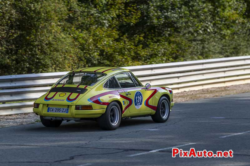 United Colors Of Autodrome, Porsche 911 ST psychédélique