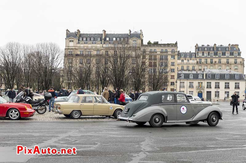 21e Traversee De Paris Hivernale, Bentley Type R