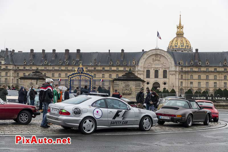 21e Traversee De Paris Hivernale, Safety Car F1 Mercedes